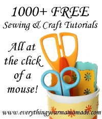 Free sewing & crafting tutorials